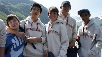 international middle school in swiss alps