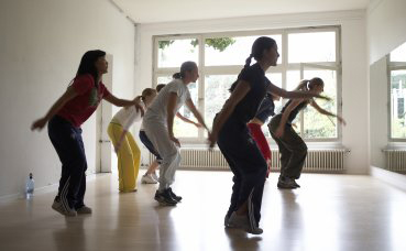 aerobics class in Brillantmont