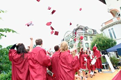 Brillantmont A Levels Graduation