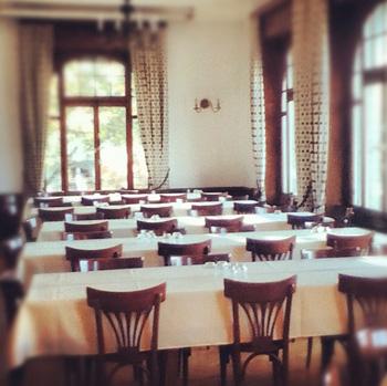 dining hall at brillantmont
