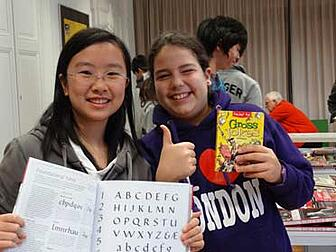 Brillantmont International School multicultural students
