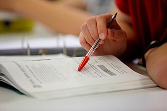 Brillantmont International School studying for A Levels