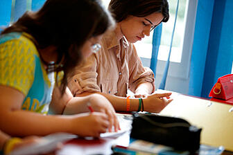Brillantmont students studying at school