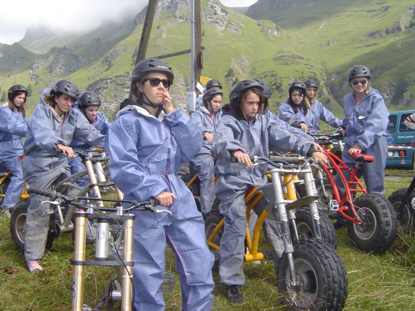 Activities at Brillantmont international summer school in Switzerland