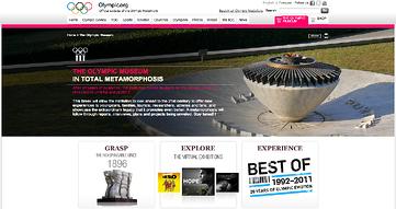 Olympic museum in Lausanne Switzerland