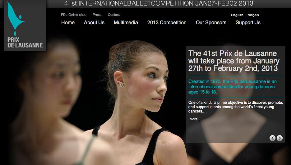 Prix de Lausanne Ballet Festival