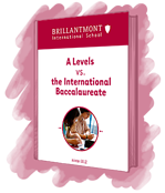 Brillantmont ebook: A levels vs IB
