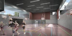 Brillantmont sports hall
