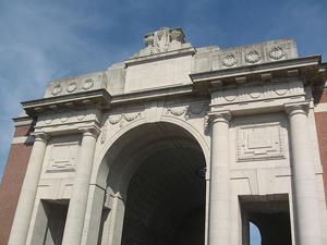 Menin Gate memorial in Ypres
