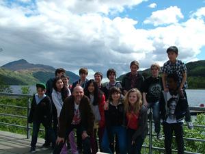 Brillantmont Middle School trip to Scotland