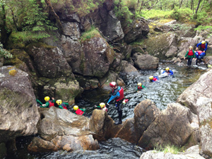 Brillantmont Middle School student trip to Scottish Highlands