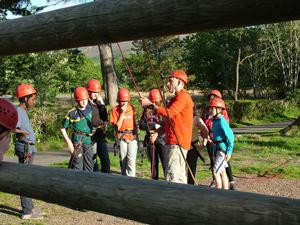 Brillantmont Students extra curricular activities in Scotland