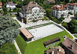 Sports at Brillantmont, Switzerland