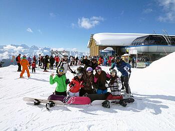 Brillantmont half term ski week2