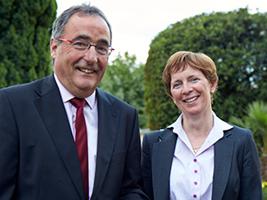 The History of Brillantmont: Mr Philippe Pasche and Ms Geraldine Boland