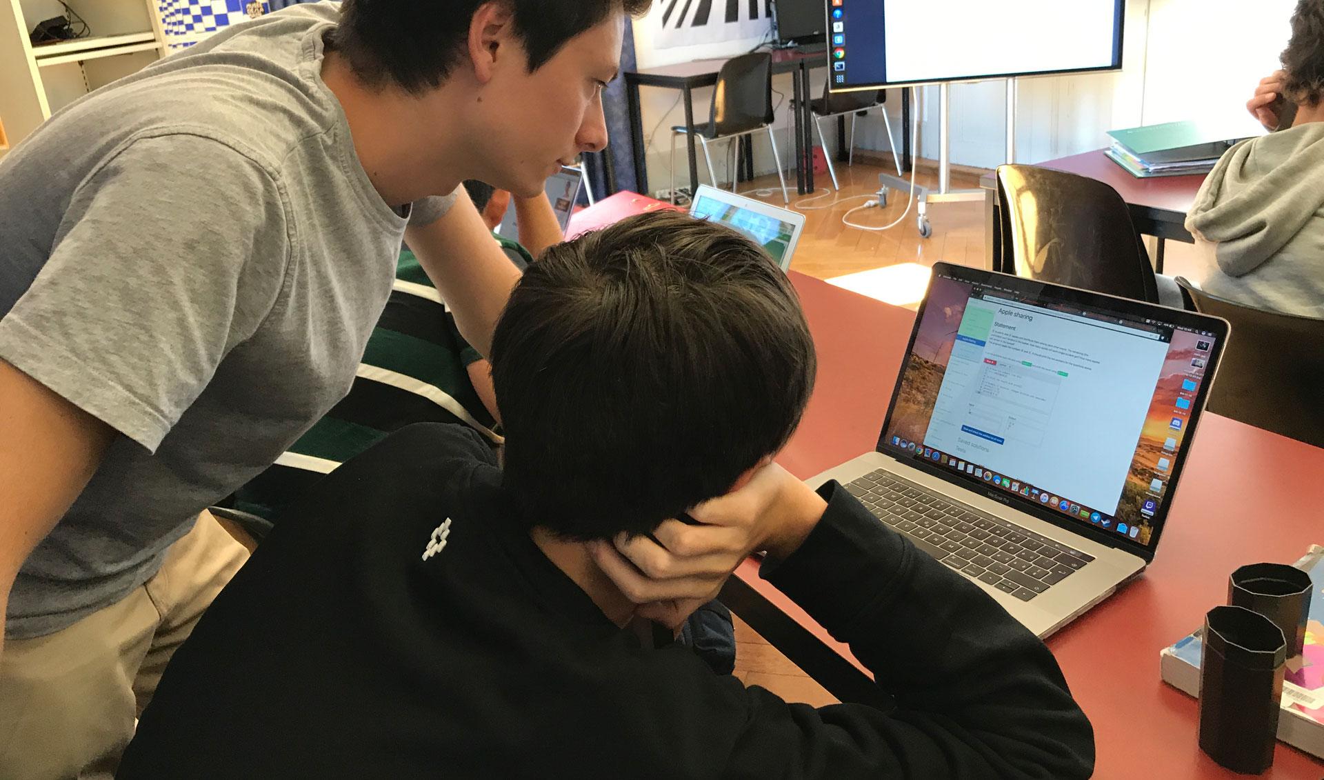 Brillantmont-International-School-coding-classes-with-TechSpark-Academy-Switzerland
