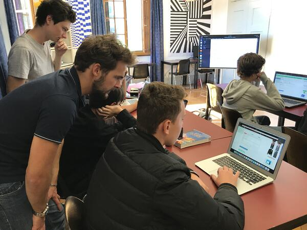 Brillantmont coding classes with TechSpark Academy
