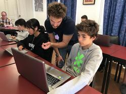 Brillantmont International School coding and robotics classes