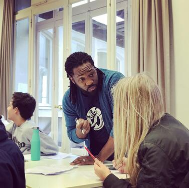 Jamaal Jackson Rogers at Brillantmont International School