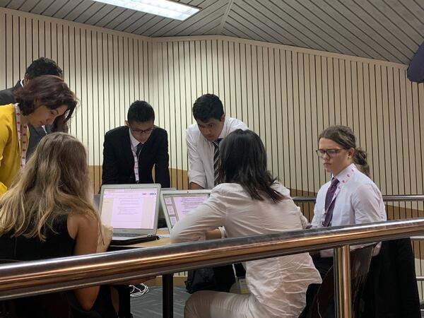 THIMUN conference in Singapore.