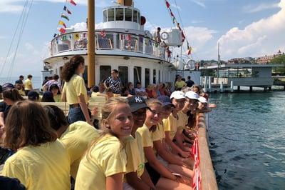 Summer-Course-in-Switzerland-boat-ride