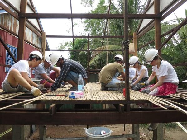 Brillantmont Habitat for Humanity trip Cambodia 11
