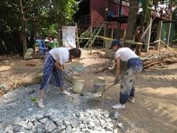 Brillantmont Habitat for Humanity trip Cambodia 12