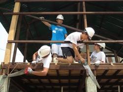 Brillantmont Habitat for Humanity trip Cambodia 13