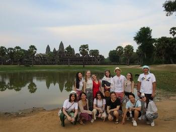 Brillantmont Habitat for Humanity trip Cambodia 16