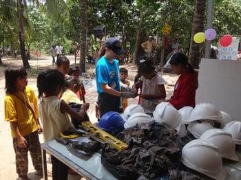 Brillantmont Habitat for Humanity trip Cambodia 17