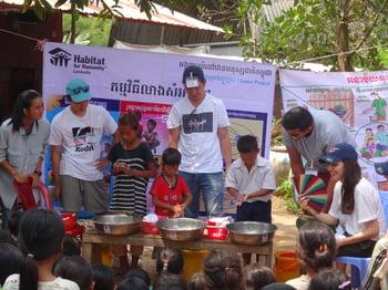 Brillantmont Habitat for Humanity trip Cambodia 2