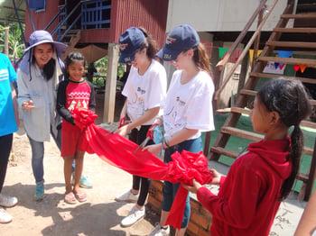 Brillantmont Habitat for Humanity trip Cambodia 4