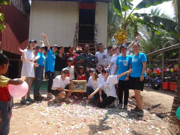 Brillantmont Habitat for Humanity trip Cambodia 5