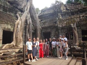 Brillantmont Habitat for Humanity trip Cambodia 6