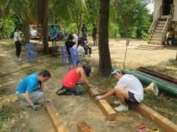 Brillantmont Habitat for Humanity trip Cambodia 8