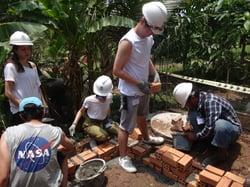 Brillantmont Habitat for Humanity trip Cambodia
