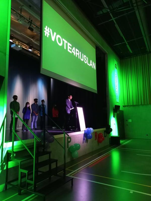 1 Brillantmont International School student leader election