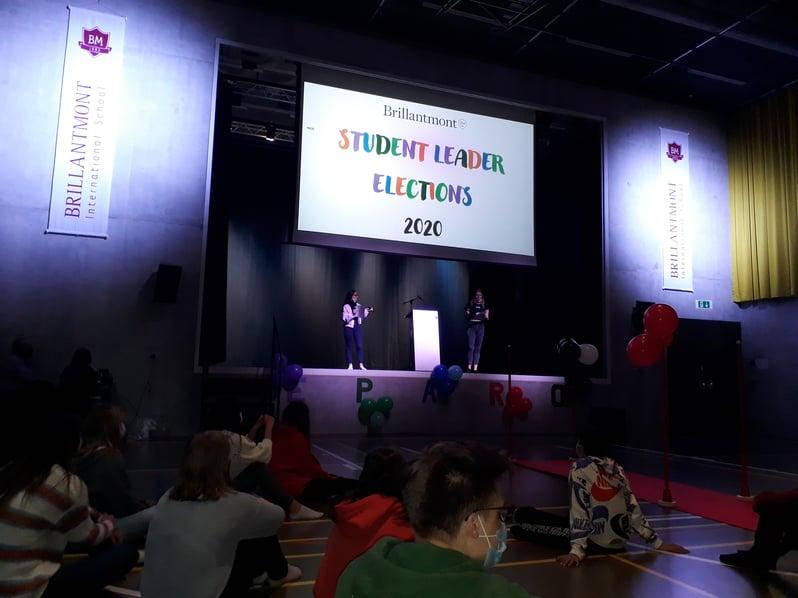 2 Brillantmont International School student leader election