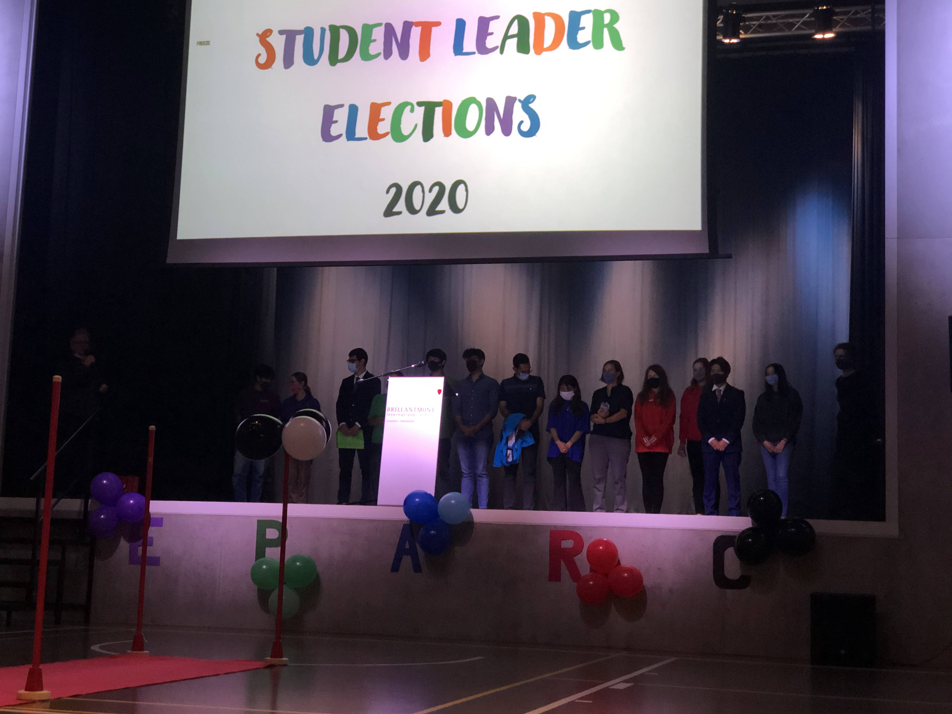 3 Brillantmont International School student leader election
