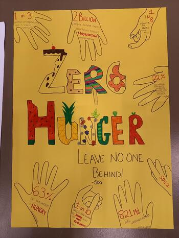 Brillantmont Sustainable Development Goals Project Challenge posters 3