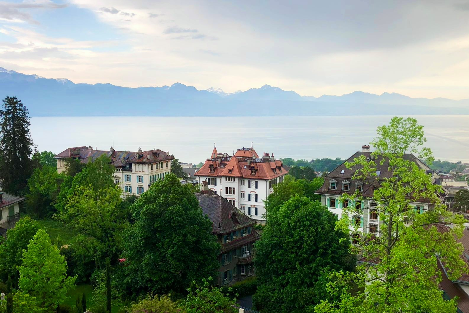 Brillantmont International School campus in Lausanne Switzerland