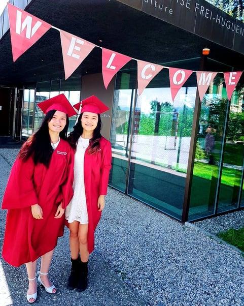 Brillantmont International School Alumna graduation