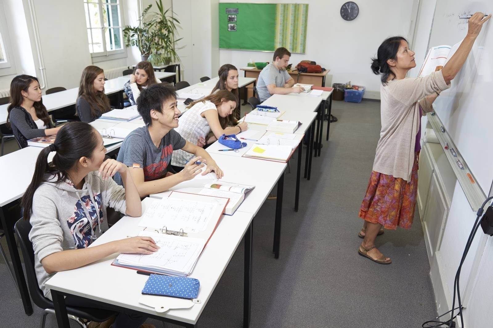 learning french in summer course