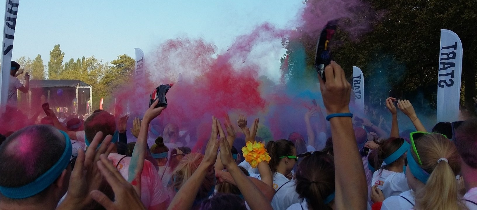 2016 color run in lausanne