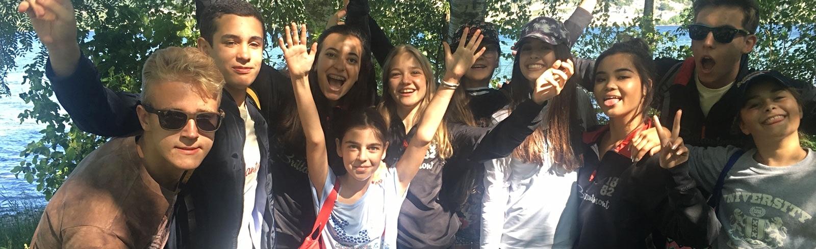 Fun and games Brillantmont Summer School