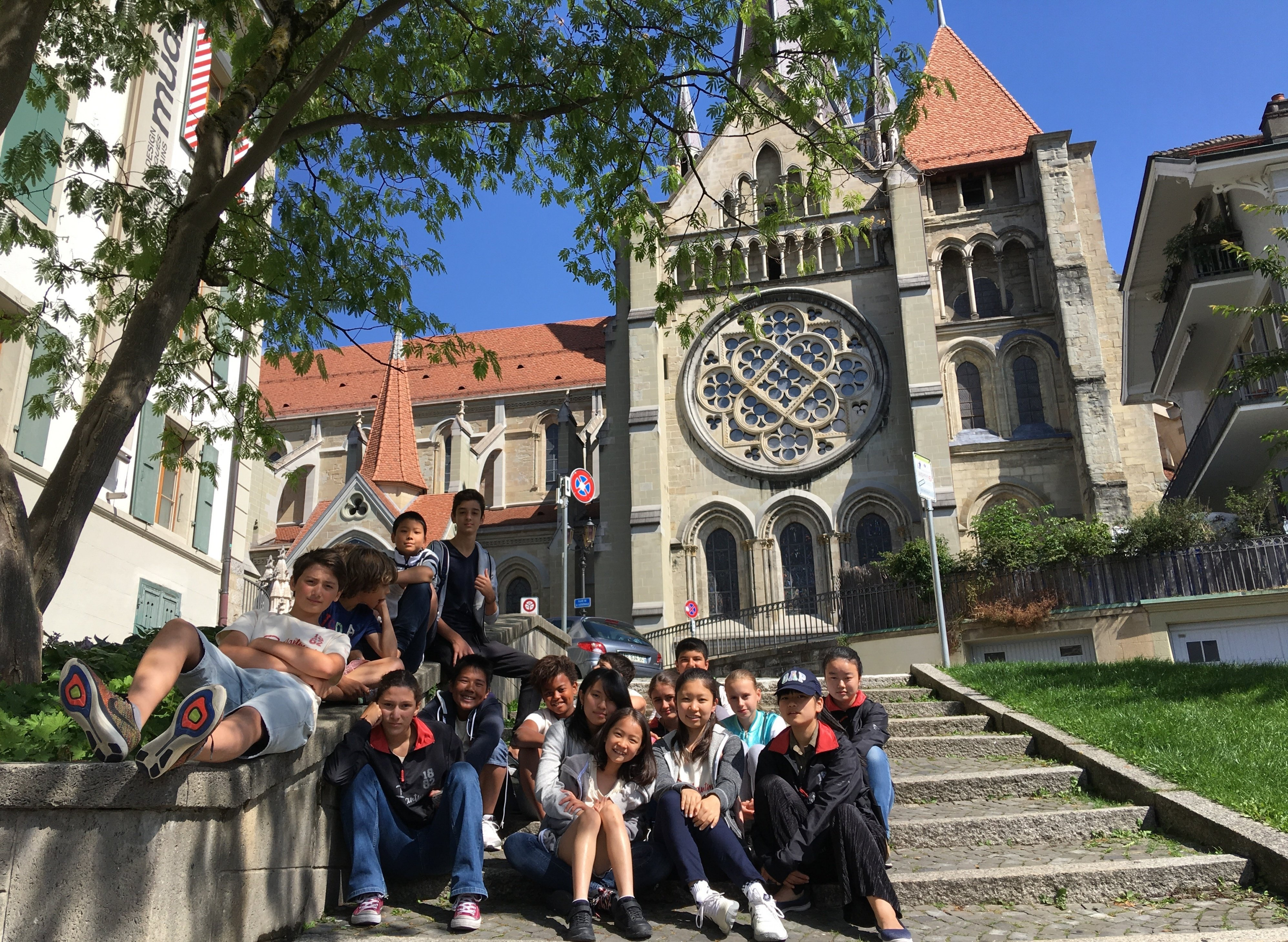 summer students in lausanne