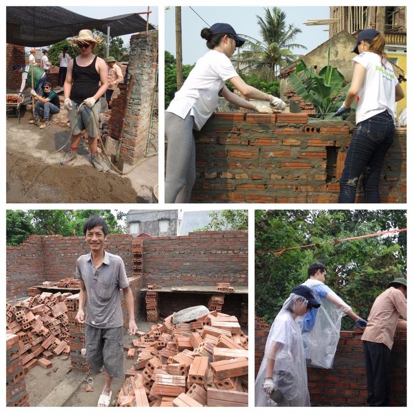 house building Vietnam