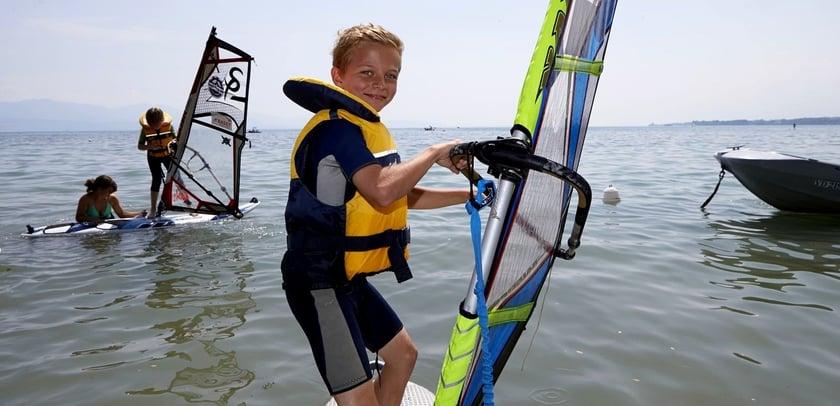 lake summer sport