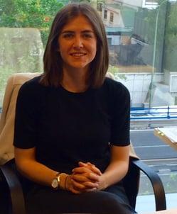 Paula Navarro Brillantmont alumna from Spain