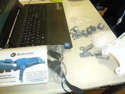 Robotics workshop in Geneva 3D and components